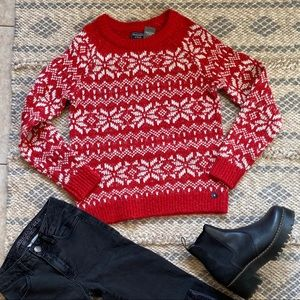 Abercrombie & Fitch Christmas sweater size M NWT